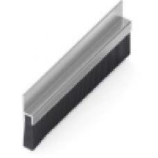 Пылезащитная щётка в алюминиевом корпусе